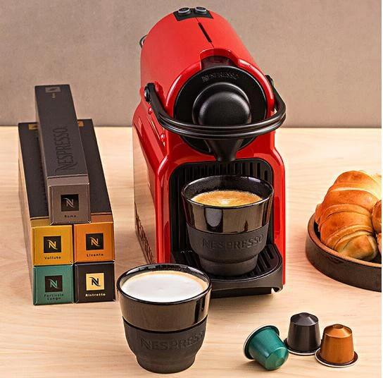 Nespresso household capsule coffee machine Inissia Italian