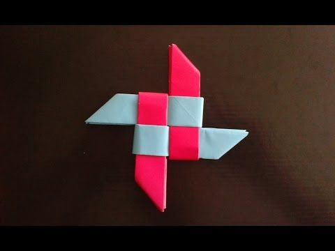 Origami Ninja Star Youtube Daniel Pinterest