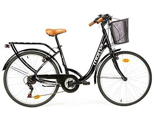 """Moma - Bicicleta Paseo Citybike SHIMANO. Aluminio, 18 velocidades, ruedas de 28"""" Moma Bikes http://www.amazon.es/dp/B00VXE3S2Y/ref=cm_sw_r_pi_dp_qeBXwb1A71X3C"""