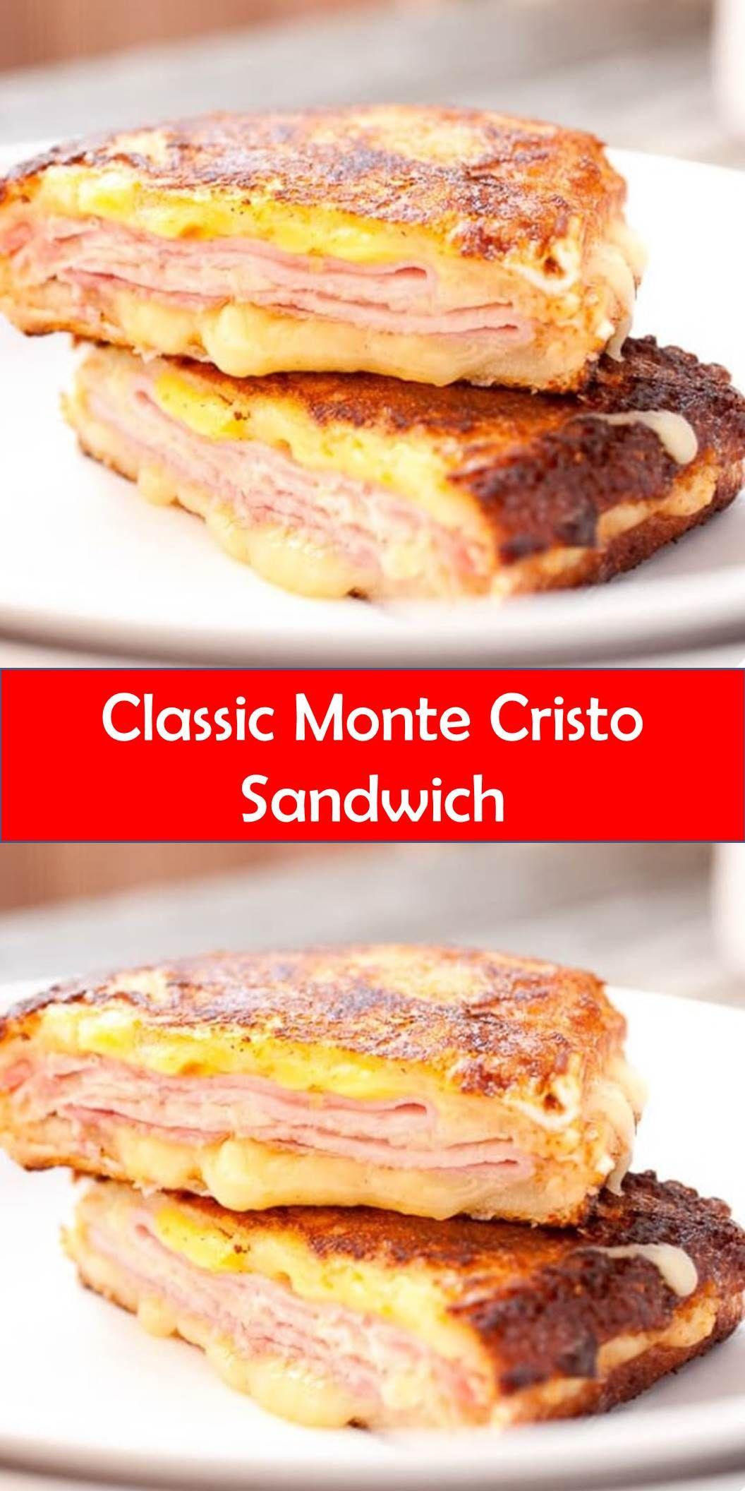 #Yummy #Classic #Monte #Cristo #Sandwich  #montecristosandwich