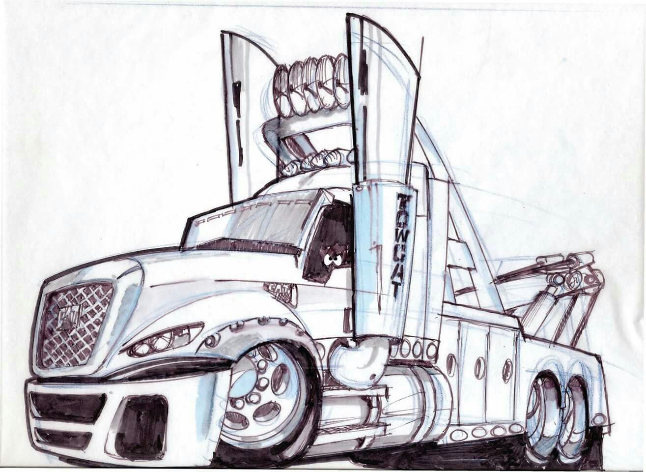 Tow Trucks By Tramp Design Tow Truck Towing
