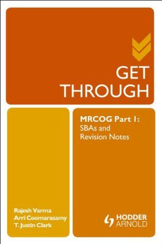 Pdf for the 1 part notes revision mrcog