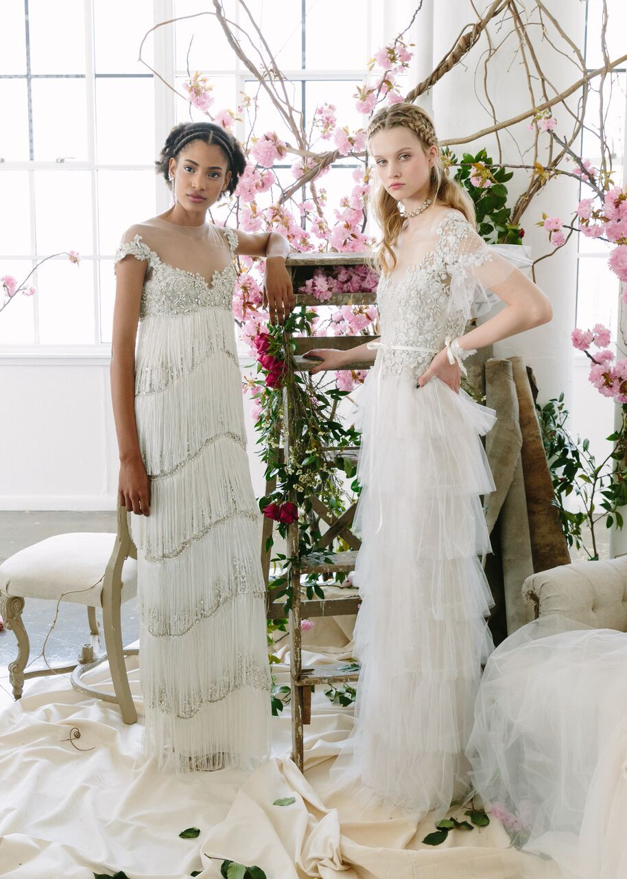The SS18 Marchesa Notte Bridal Collection! Shop these looks at any Lovely Bride location!
