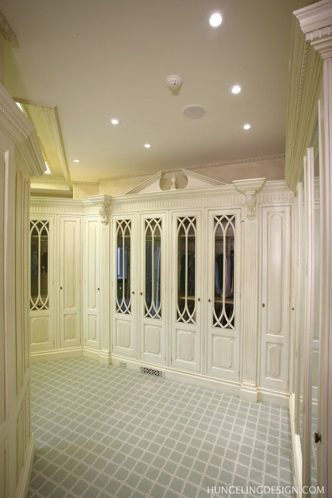 Clive Christian Dressing Room - Chattanooga, TN by Hungeling Design ...