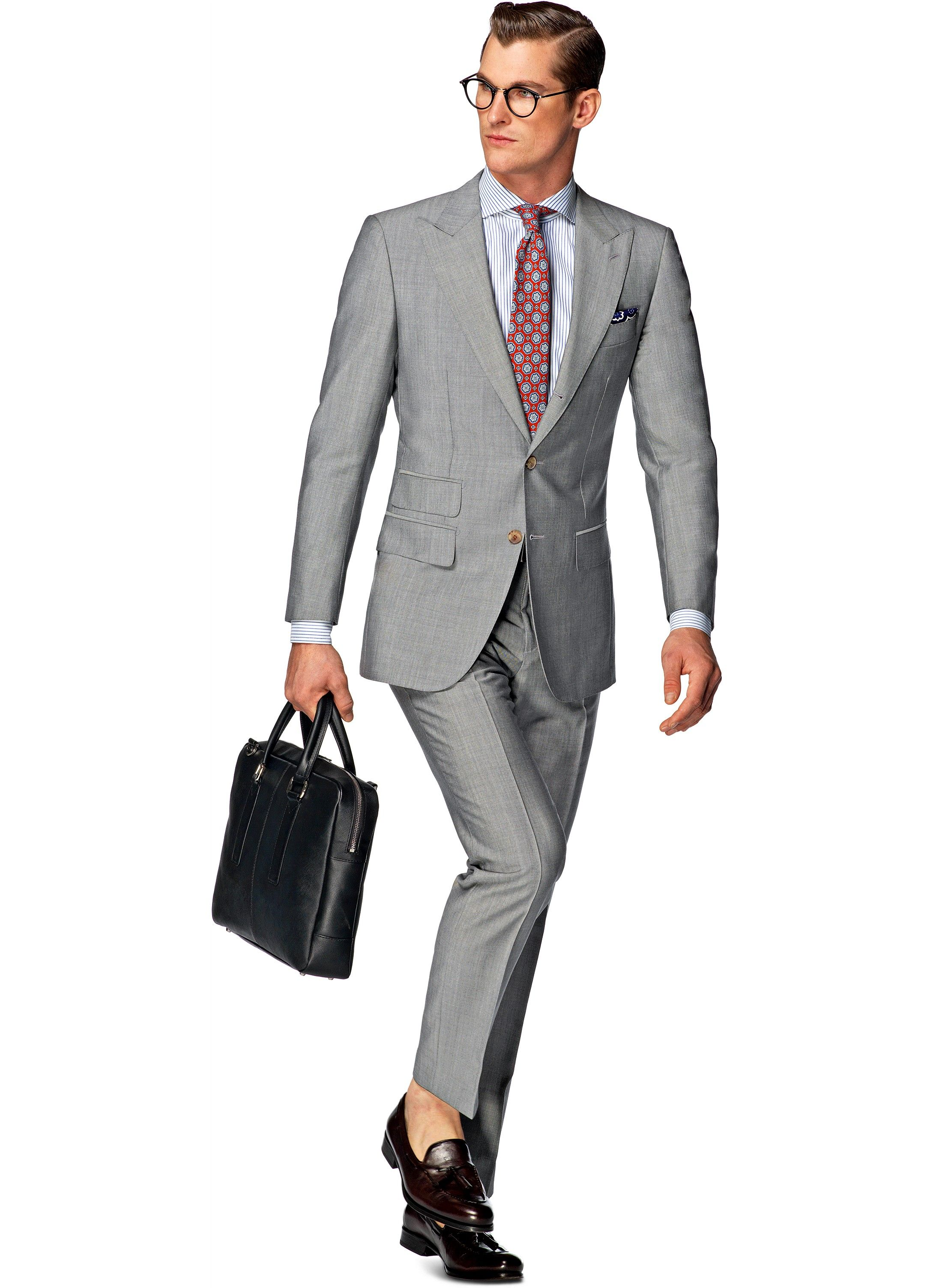 gray shoulder york lightly slightly lowered suitsupply summer and linen for suit button padded its grey ready pin with light fit