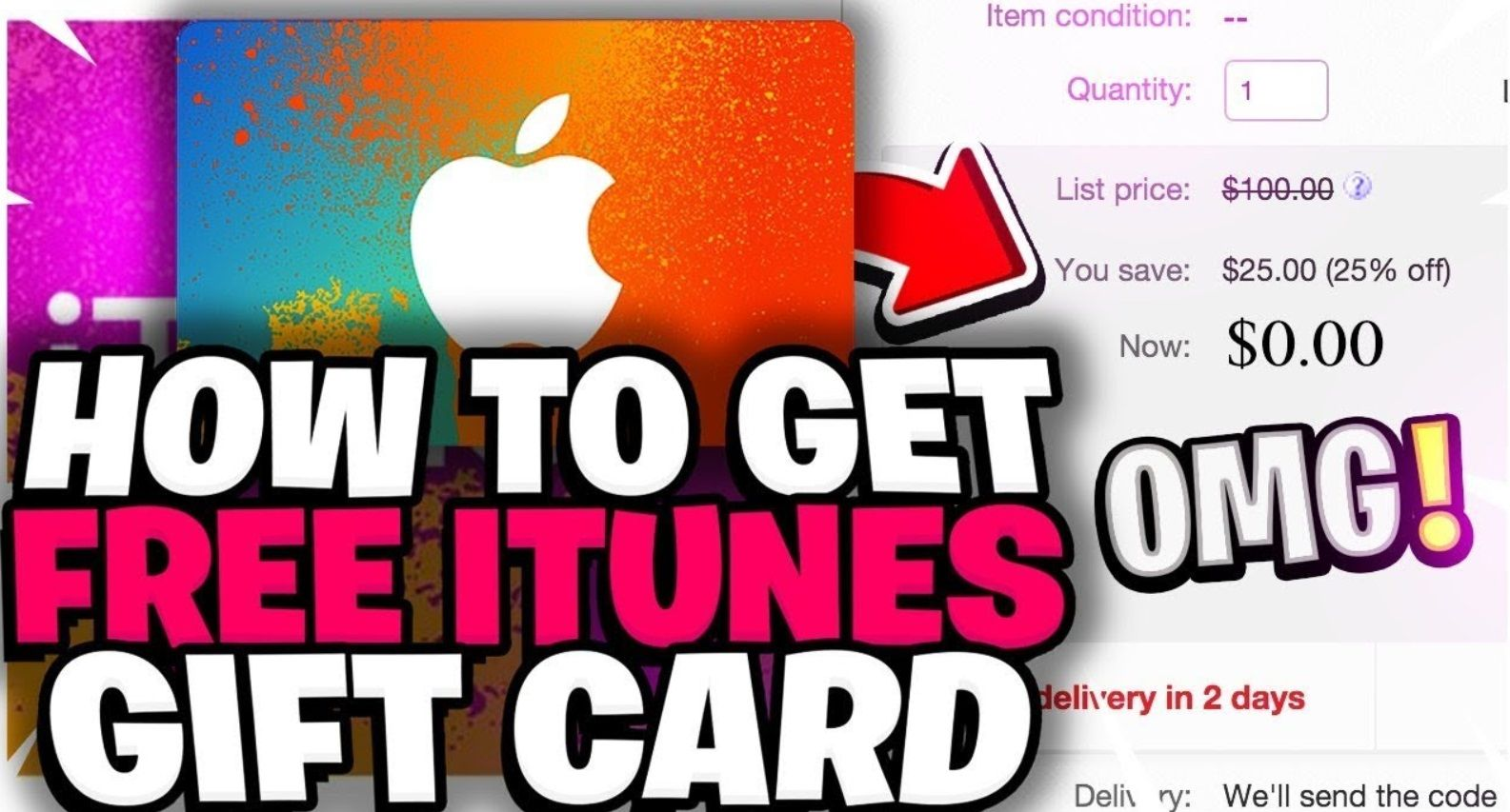 The best way to get free itunes gift card in 2021 free