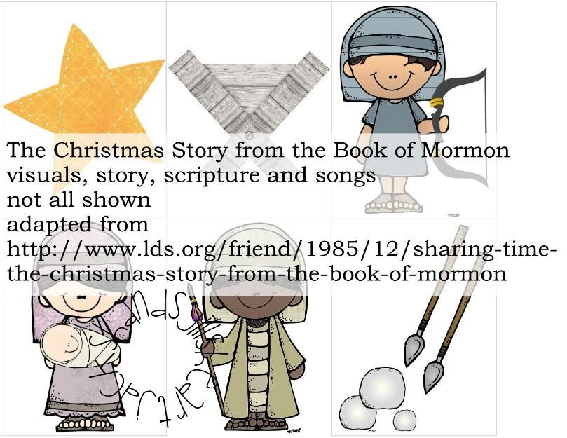 Primary or FHE lesson: The Christmas Story from the Book of Mormon ...