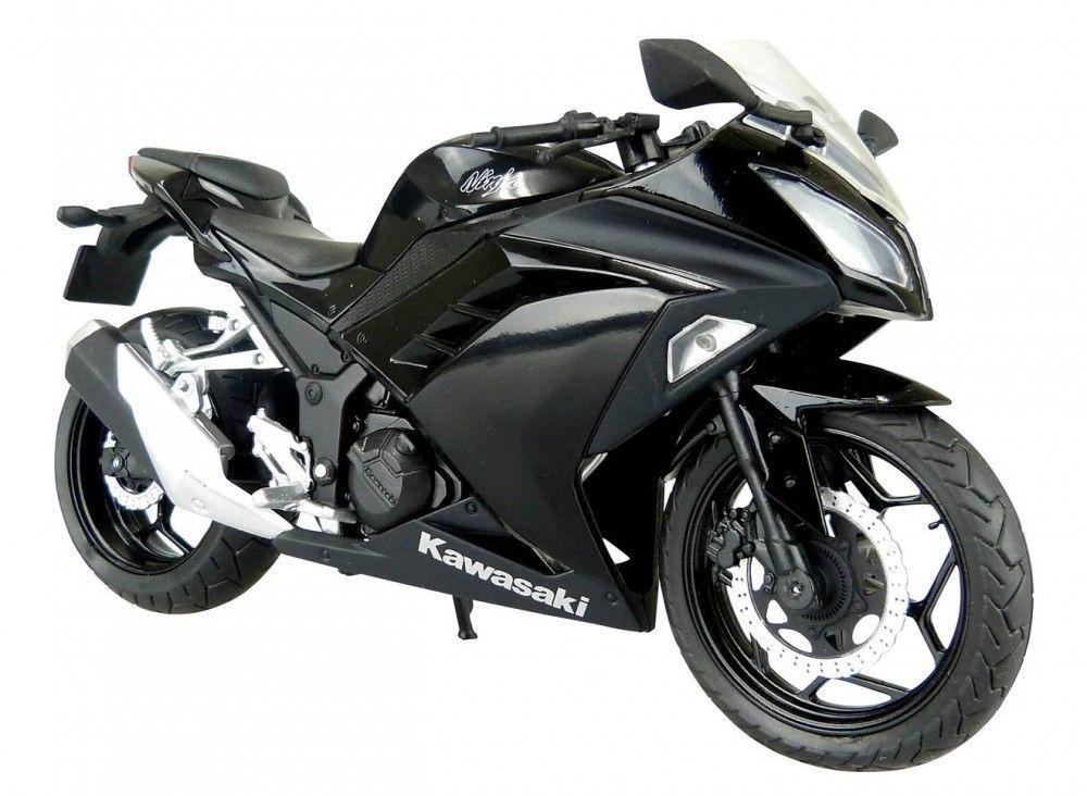 Skynet Aoshima Kawasaki Ninja250 Black 1/12 Scale Motorcycle Diecast from Japan #Skynet #KAWASAKI