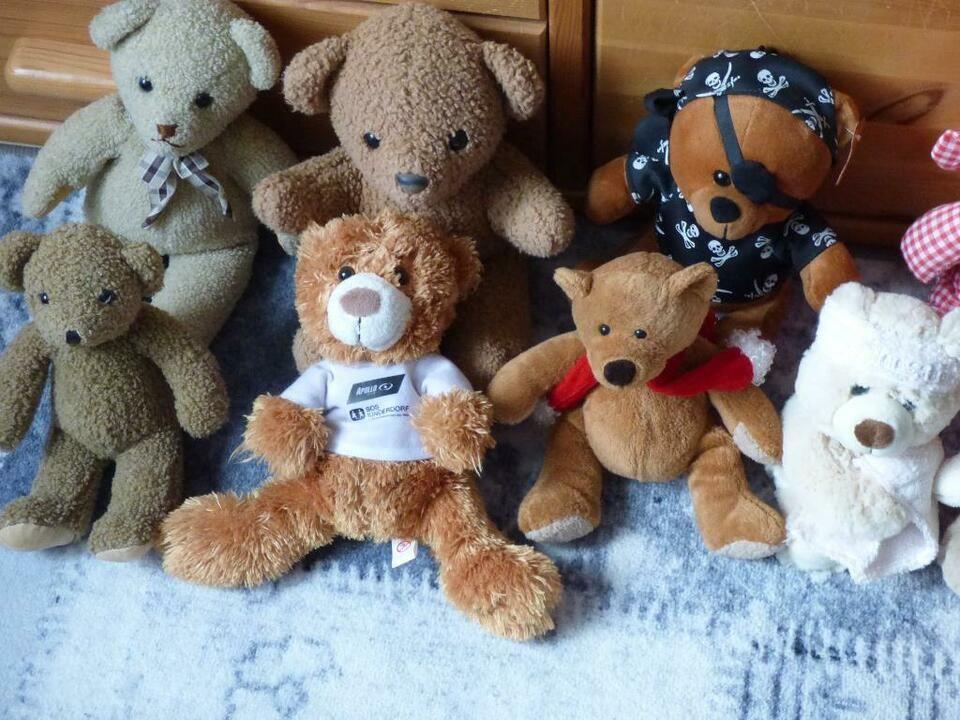 Teddybaren Teddy Sammlung Insgesamt 34 Stuck In Berlin Tempelhof Sammlung Berlin Tempelhof Ebay
