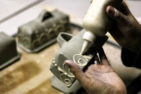 Back Bay Pottery: Making A Covered Butter Dish...