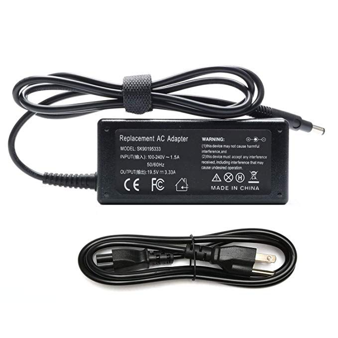 Novelty 65w 19 5v 3 33a Ac Adapter Laptop Charger For Hp Pavilion Touchsmart 14 B109 14 B109wm 14 B124us 14 B150us 15 B142dx 14 B120dx 15 B143 15 B143cl Hp Envy Laptop Charger Hp Pavilion Power Cord