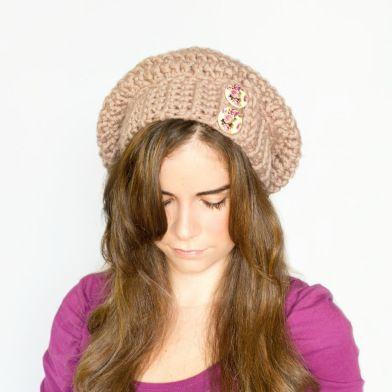 Chunky Slouchy Beanie Crochet Pattern Crochet Pinterest