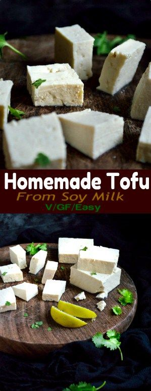 Homemade Tofu From Store Bought Soy Milk Recipe Recipe Soy Milk Recipes Homemade Tofu Healthy Milk Recipes