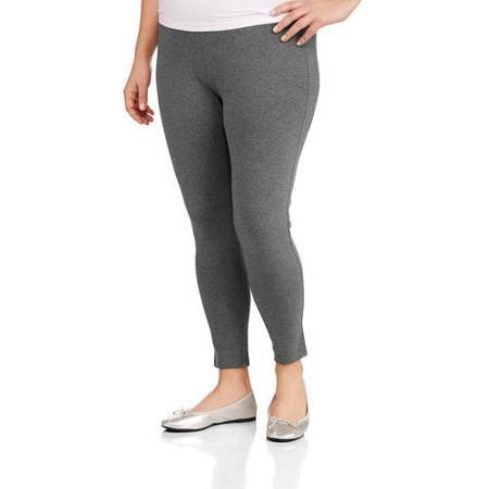 2e121d527bd Faded Glory Women s Plus-Size Essential Knit Legging - Walmart.com ...