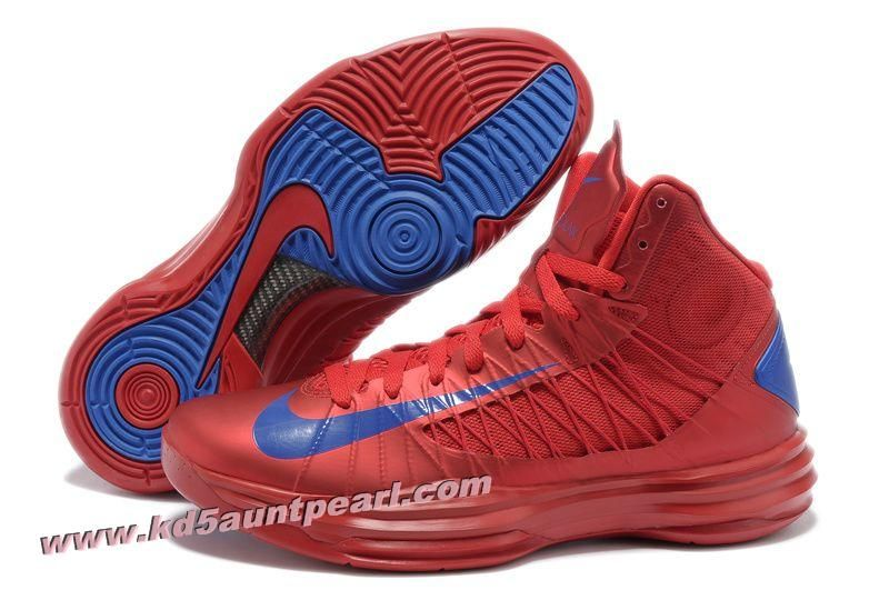 official photos e024e da028 AAPQ5027 Nike Lunar Hyperdunk 2013 University Red Game Royal Men s  Basketball Shoes 2013