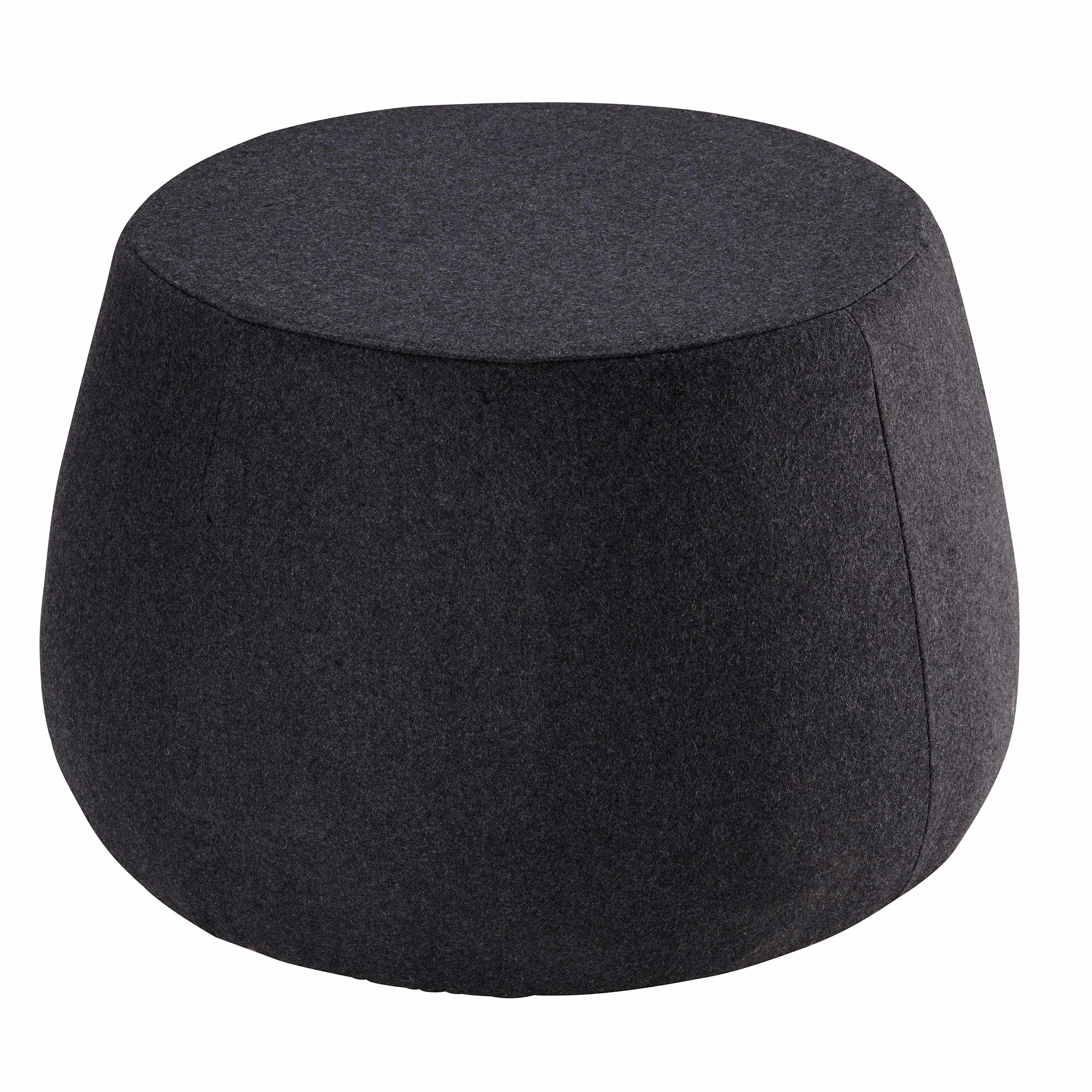 Nackenrolle Ikea anthracite fabric pouffe garett footstools
