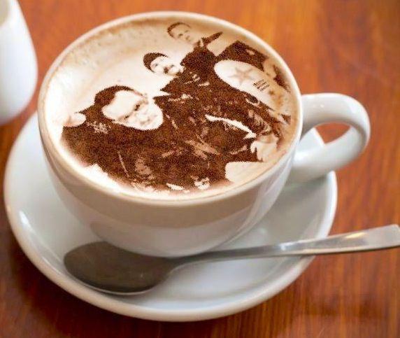 U2 - Cappuccino? Yessss!