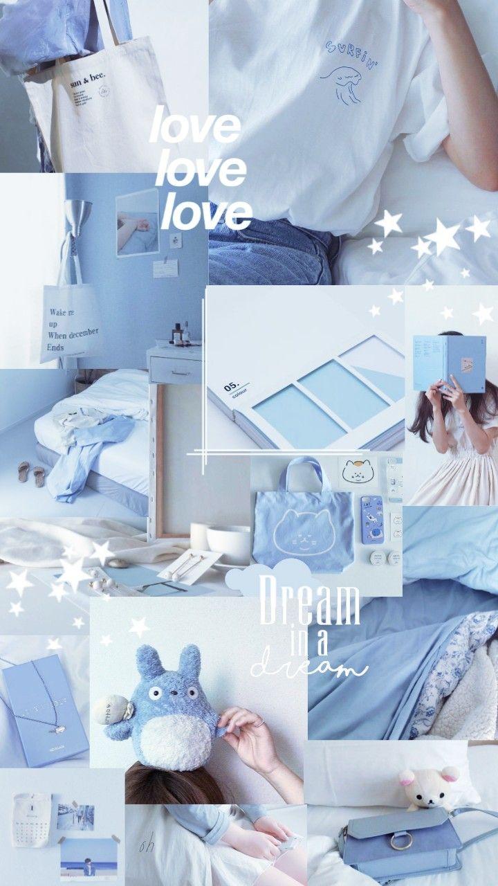 Lockscreen Aesthetic Baby Blue Picsart Filter Warna Aqua Biru Indah Ruang Seni