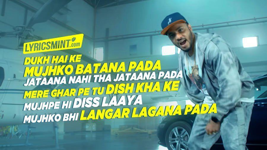 Sheikh Chilli Lyrics Raftaar S Reply To Underground Rapper