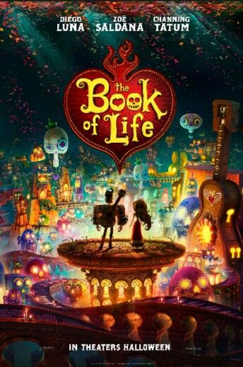 The Book of Life...seen previews love the animation...so colorful im soo looking forward to seeing this movie...@kamun55. I think you would love this too!