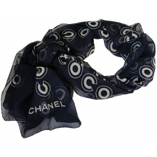 Chanel Scarves liked on Polyvore | Polyvore | Pinterest ...