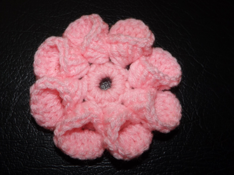 How to Crochet Easy Flower | Crochet flowers | Pinterest | gehäkelte ...