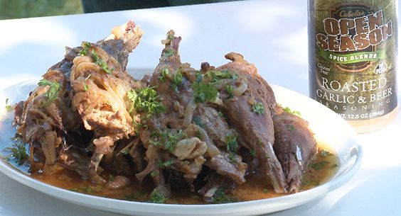 How To Make Beer Braised Pheasant Legs Recipe http://fave ...