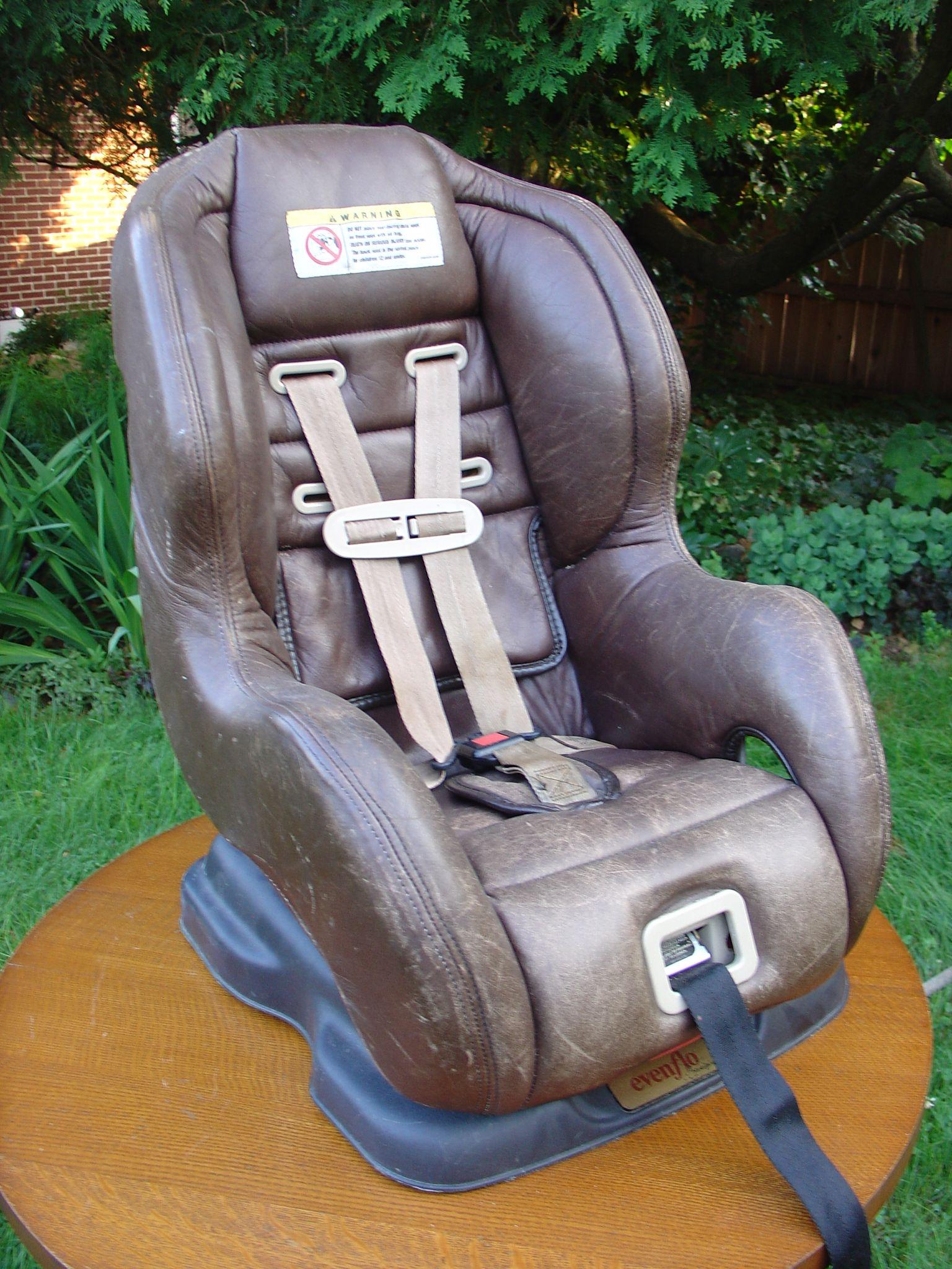 Evenflo Medallion Leather 2000 Car Seat Kids Haresskids