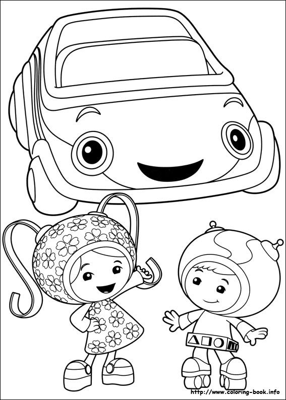 Coloriage A Imprimer Umizoomi.Umizoomi Coloring Picture Images Lilian Pinterest Coloriage