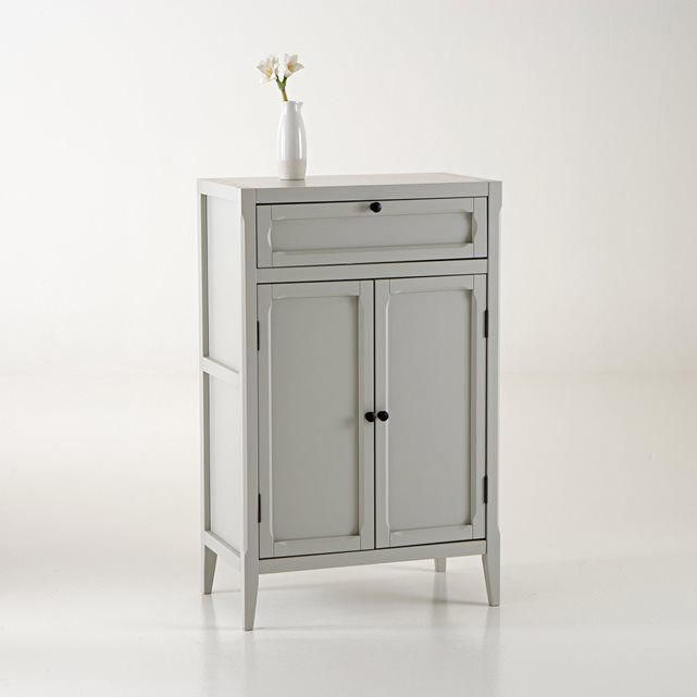 Best Eugenie 2 Door 1 Drawer Armoire Low Wardrobe Drawers 400 x 300