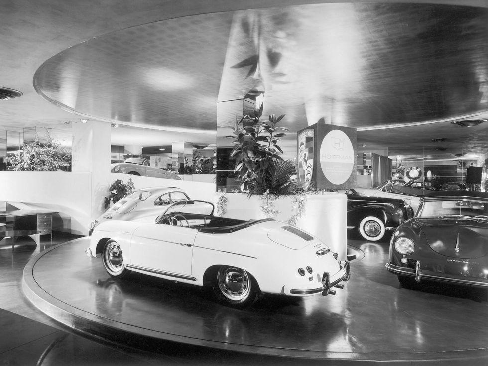Porsche 356 On Display At Hoffman Motor Car Company Concept Cars Car Showroom Concept Car Design