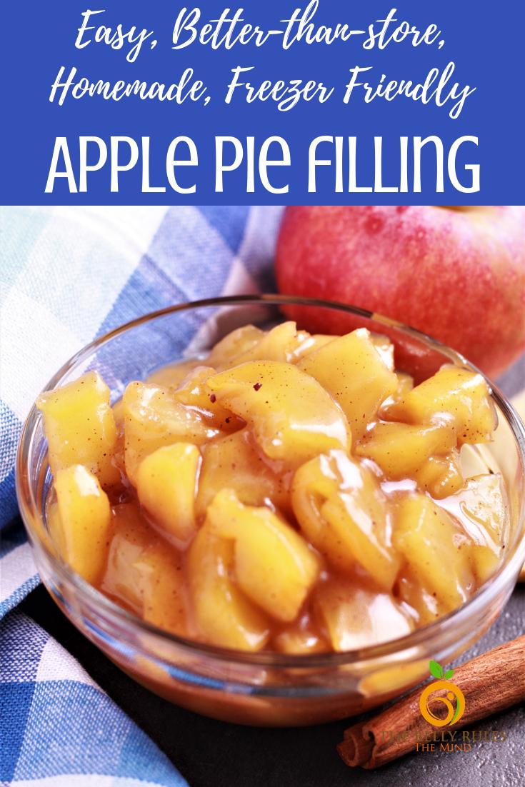 Cinnamon Apple Pie Filling