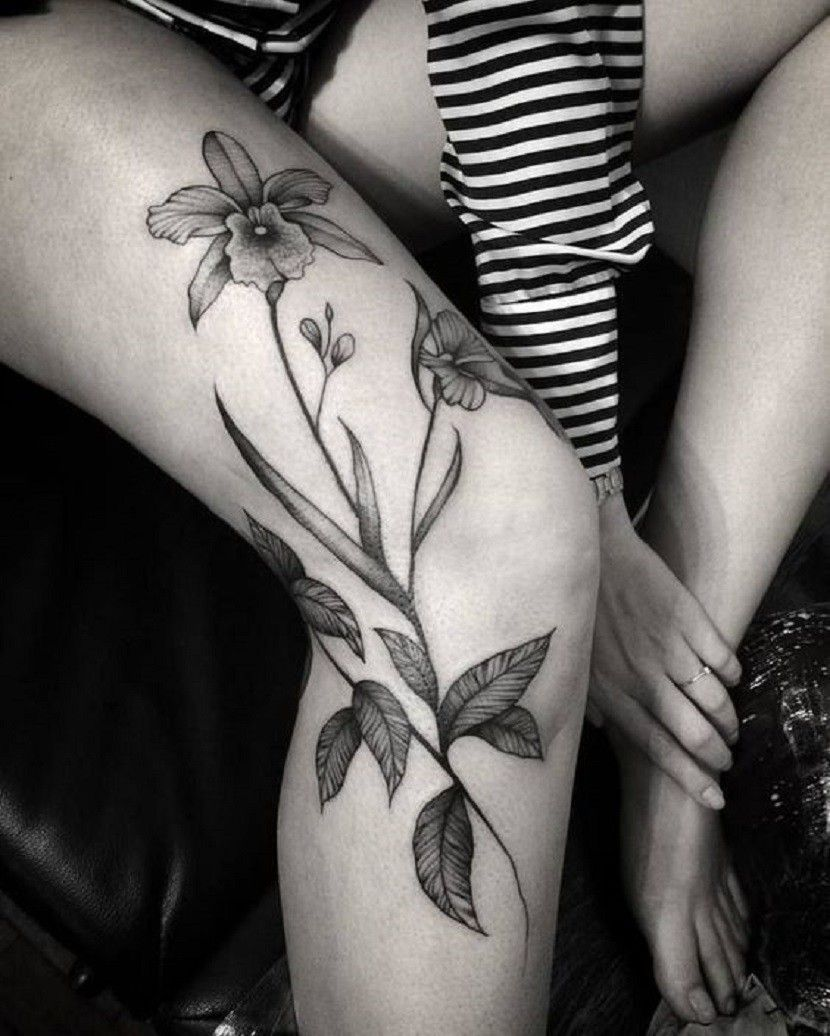 Pin by carola on tatuering in pinterest tattoos orchid