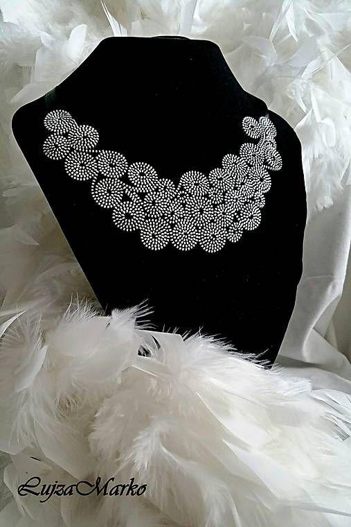 LujzaMarko / Zipper náhrdelník