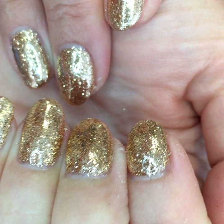 80 Diseños De Uñas Color Dorado U Oro Decoración De Uñas Nail
