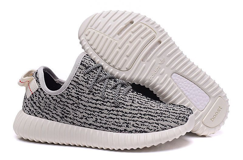 Buy 2016 Adidas Yeezy Boost 350 Homme Running Chaussures Gris Blanc Noir (Adidas  Yeezy Boost 350 Pas Cher) from Reliable 2016 Adidas Yeezy Boost 350 Homme  ...