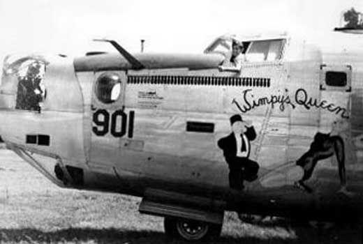 """B-24  """" Wimpy's Queen"""""""