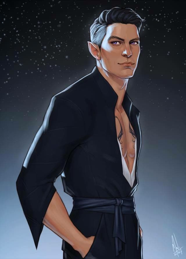 Rhysand From A Court Of Thorns And Roses Trilogy Credit From