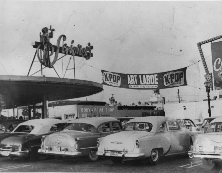 Scrivner's Drive In Restaurant in Hollywood | Ca history, San luis obispo  county, Vintage los angeles