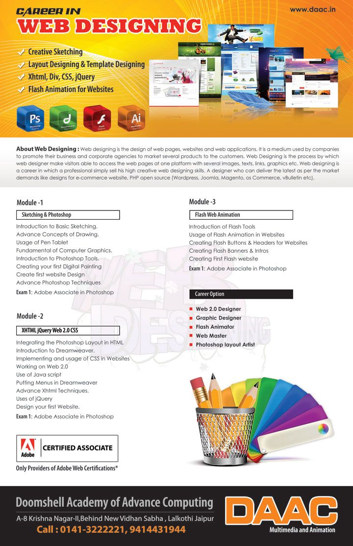 Web Design Course Details Web Design Course Web Design Web Design Company