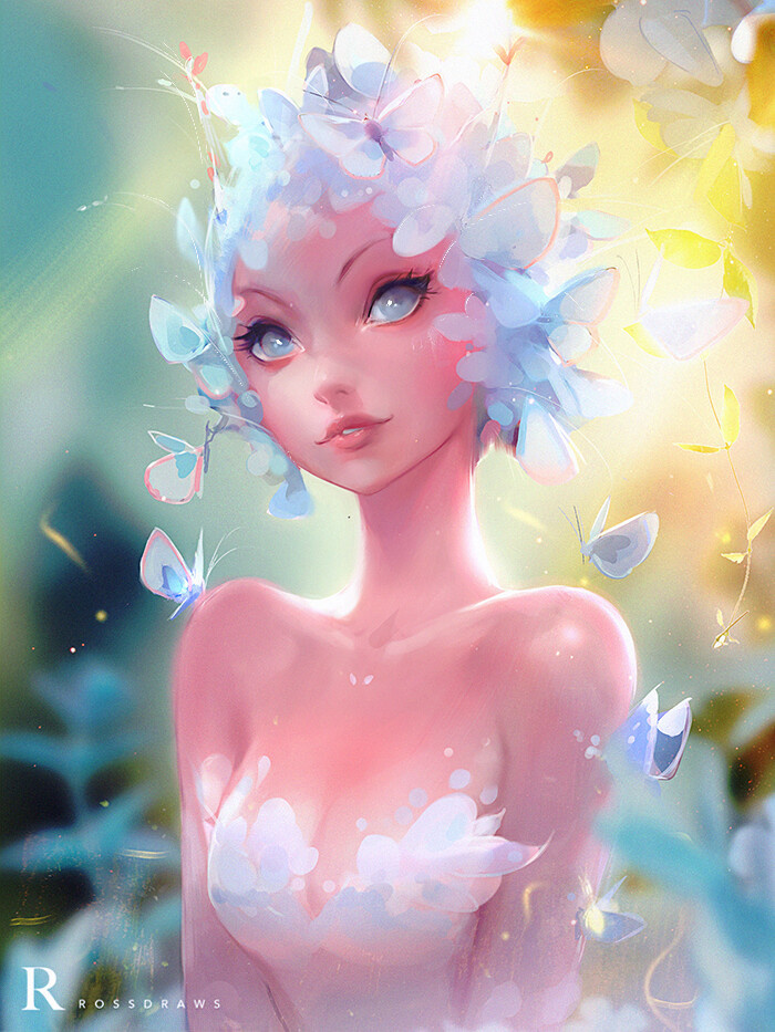 Photo of Rossdraws ✦ is creating Art Courses, Illustrations & Video Tutorial Podcasts   Patreon