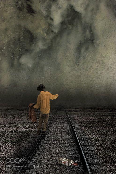 be careful tonight - Pinned by Mak Khalaf Fine Art artfine artsurreal by mavbab