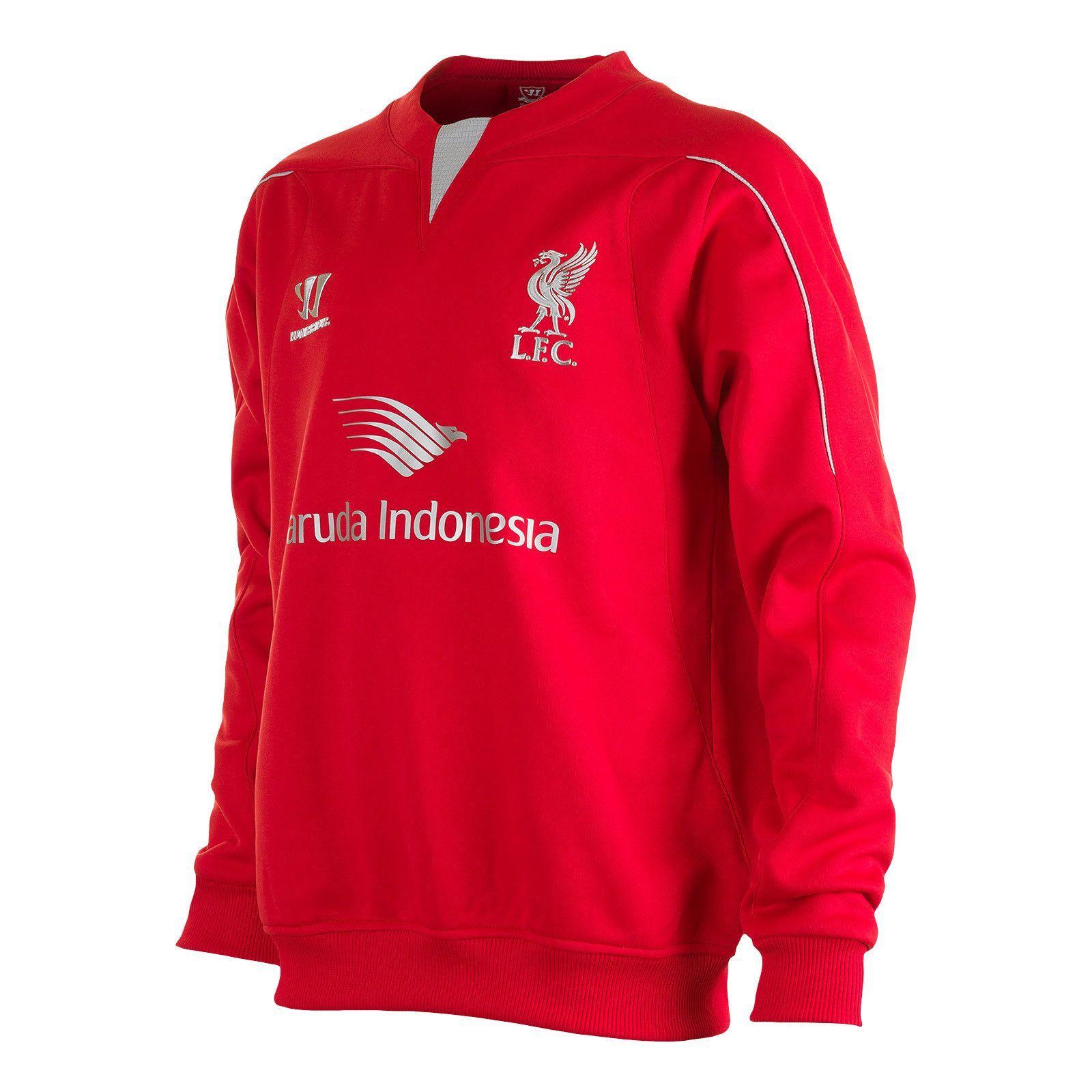 2014/15 Warrior Youth Liverpool Training Sweatshirt (With