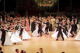 History of ballroom dancing
