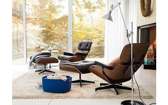Eames® Lounge and Ottoman  