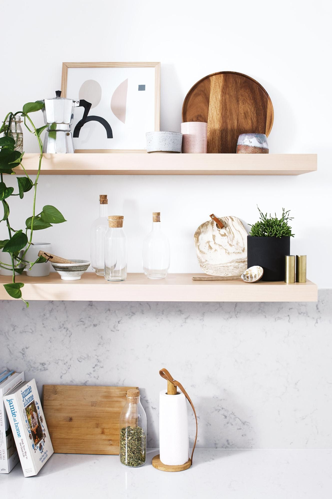 Ikea 'Lack' wall shelves (With images) Dining room