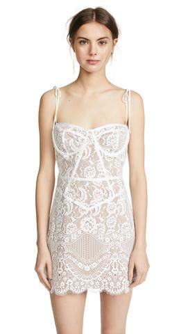 dior bella  products  pam white twopiece lace mini
