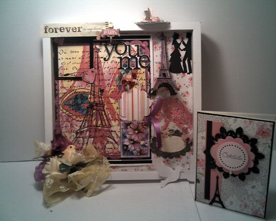 ROMANCE IN PARIS Complete Wedding Gift set by CathysCraftWorld