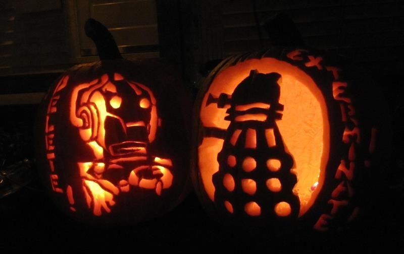 doctor who jack o lantern