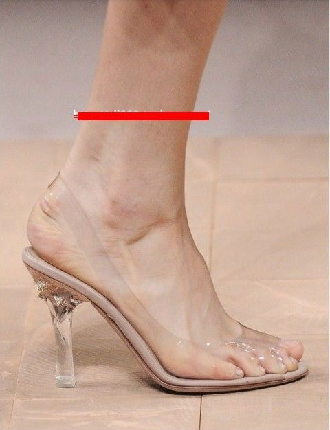 2013 New Clear Crystal Lady High Heels Wedding Shoes Comfortable Sandals With Banquet